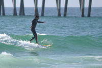 Surfers at the Pensacola beach Florida, 12-02-2012, 2116