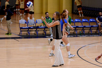09-04-2015, UWF Womens volleyball, sport, action photography, Pensacola, Florida, 0750
