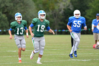 10-03-2015, UWF Argos Football Scrimmage, Football photography, 1386