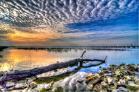 236, Seascape, Mobile Bay in Mobile Alabama, Scape Photography