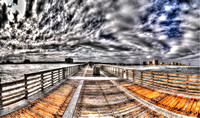 Jacksonville Beach Florida, Jax Beaches, Travel and Places, Panorama Photography, 2