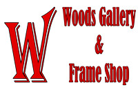 Woods Gallery and Frame Shop, Logos and Logo Designs, Photoshop Photography, 3