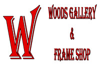 Woods Gallery and Frame Shop, Logos and Logo Designs, Photoshop Photography, 2
