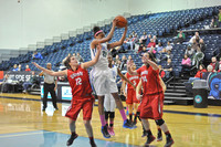 02-13-2014, womens basketball, UWF Argos vs Union, 7037
