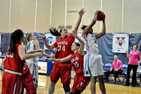 02-13-2014, womens basketball, UWF Argos vs Union, 7216