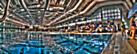 28, UWF First Swimming Competition, Panorama Photography, HDR Photography