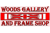 Woods Gallery and Frame Shop, Logos and Logo Designs, Photoshop Photography, 7