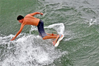 More photos of surfing
