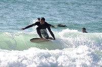 Surfers at the Pensacola beach Florida, 12-02-2012, 2092