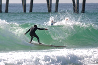 Surfers at the Pensacola beach Florida, 12-02-2012, 2144