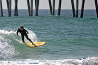 Surfers at the Pensacola beach Florida, 12-02-2012, 2252