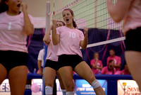 10-11-2014, Pack it Pink volleyball game
