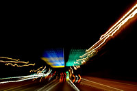 204, Highway sign and street lights, lines