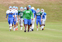 10-03-2015, UWF Argos Football Scrimmage, Football photography, 1377