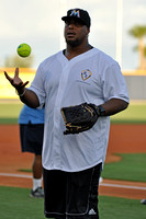 Reggie Evans Charity Softball Game at Maritime Park Pensacola Florida, 07-13-2013, Softball, Sport Photography, 0616