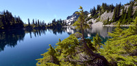 Snow Lake Trail, Gem Lake Hike, Hiking Photography in Washington State, 07-24-2016, Nature and Lake Photos, 9927