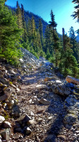 Snow Lake Trail, Gem Lake Hike, Hiking Photography in Washington State, 07-24-2016, Nature and Lake Photos, 082611