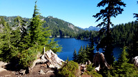 Snow Lake Trail, Gem Lake Hike, Hiking Photography in Washington State, 07-24-2016, Nature and Lake Photos, 090044