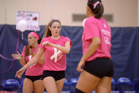 10-11-2014, Pack it Pink volleyball, 6869