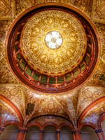 10, Flagler College Ceiling, cool hdr effect, Phonetography Photos
