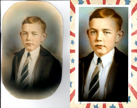 Photo Restorations, Photoshop, Photo Enhacements, frame 15a