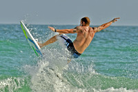 19, Surfer at the Pensacola Beach Florida,water sport