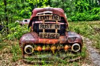 Field of Old Rusty Cars, Crawfordville, Wakulla county, route 319, 05-02-2014, 5240, Automotive Photography