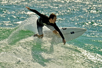 5, Surfer at the Pensacola Beach Florida,water sport