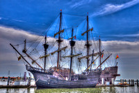 El Galeon, Nao Victoria, hdr photography, Ships docked at St Augustine Port, Florida, 04-29-2014, 6688, Emmele Photography