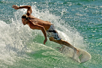 8, Surfer at the Pensacola Beach Florida,water sport