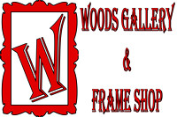 Woods Gallery and Frame Shop, Logos and Logo Designs, Photoshop Photography, 4