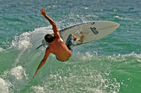 17, Surfer at the Pensacola Beach Florida,water sport
