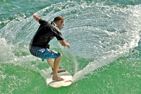 14, Surfer at the Pensacola Beach Florida,water sport