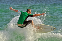 20, Surfer at the Pensacola Beach Florida,water sport