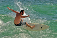 15, Surfer at the Pensacola Beach Florida,water sport
