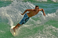 16, Surfer at the Pensacola Beach Florida,water sport