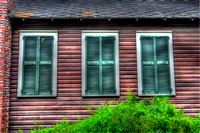 04-29-2014, three windows, City of St Augustine, Architecture Photography, 7504, Places