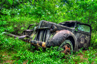 Field of Old Rusty Cars, Crawfordville, Wakulla county, route 319, 05-02-2014, 5225, Automotive Photography
