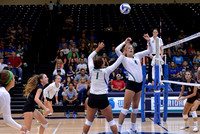 09-04-2014, UWF Volleyball, second game, 7pm