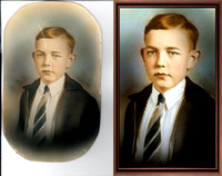Photo Restorations, Photoshop, Photo Enhacements, frame 20a