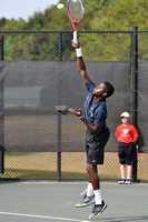 Tennis tournament, singles, Florian Reynet FRA vs Sekou Bangoura USA, 2012, 0734