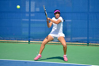 02-15-2015, womens and mens tennis, UWF Argos vs University of North Alabama Lions, 6824