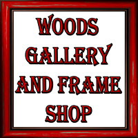 Woods Gallery and Frame Shop, Logos and Logo Designs, Photoshop Photography, 6