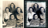 Photo Restorations, Photoshop, Photo Enhacements, frame 12a