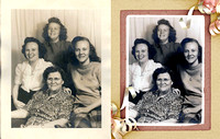 Photo Restorations, Photoshop, Photo Enhacements, frame 19a