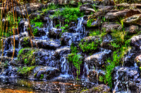 254, Little waterfall at Bellingrath Gardens, Emmele Photography