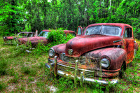 Field of Old Rusty Cars, Crawfordville, Wakulla county, route 319, 05-02-2014, 5264, Automotive Photography