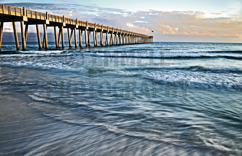Photography art sale 90 off canvas metal seascapes for Pensacola beach fishing pier