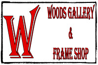 Woods Gallery and Frame Shop, Logos and Logo Designs, Photoshop Photography, 5